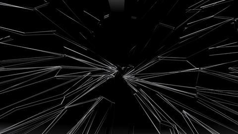 Glass Broken Ba Stock Video Footage