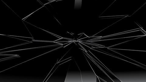 Glass Broken Da Stock Video Footage