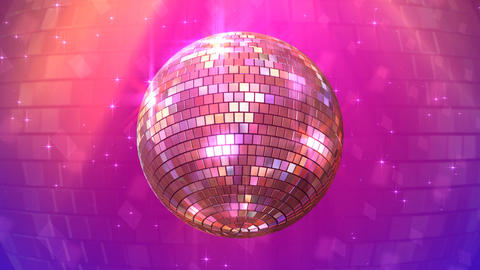 Mirror Ball Bc Stock Video Footage