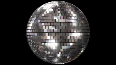 Mirror Ball Fs Stock Video Footage