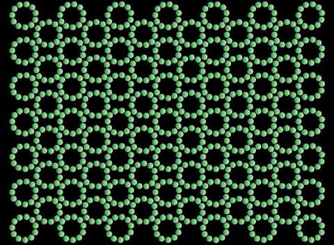 Green Rotating Balls Stock Video Footage