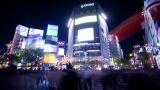 Tokyo Shibuya Hachiko stock footage