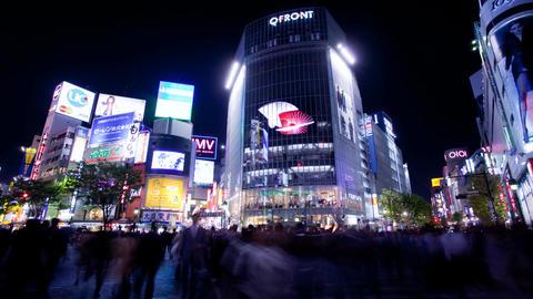 Tokyo Shibuya Hachiko Stock Video Footage