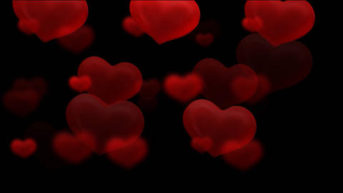 hearts HD Stock Video Footage