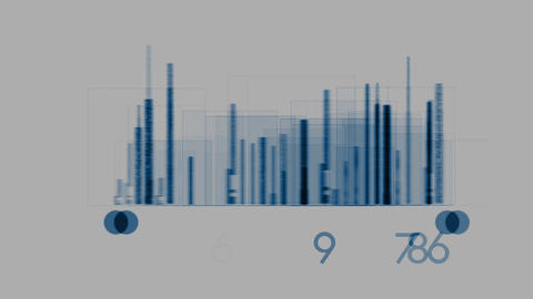 matrix graph Xray HD Stock Video Footage