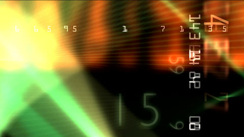 matrix new with numbers 01 Stock Video Footage