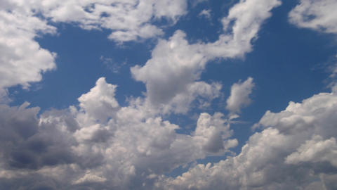 Timelapse clouds 21 Stock Video Footage