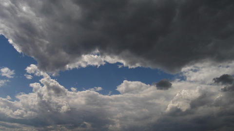 Timelapse clouds 18 Stock Video Footage