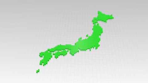 Map BlockGI J1 F Stock Video Footage
