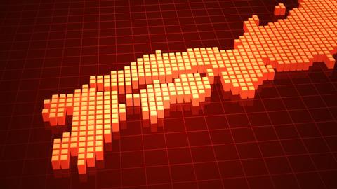 Map BlockGI J2 E Stock Video Footage