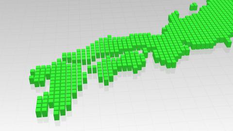 Map BlockGI J2 F Stock Video Footage