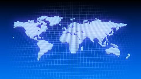 Map BlockGI W1 D Stock Video Footage