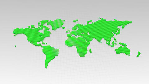 Map BlockGI W1 F Stock Video Footage