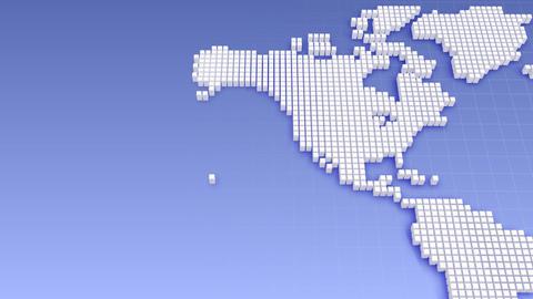 Map BlockGI W2 B Stock Video Footage