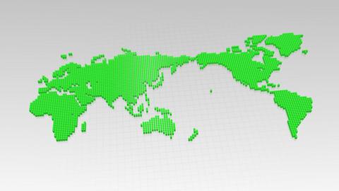 Map BlockGI W3 F Stock Video Footage