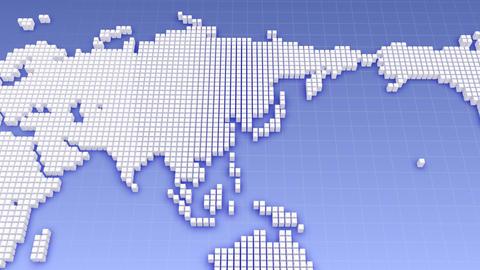 Map BlockGI W4 B Stock Video Footage