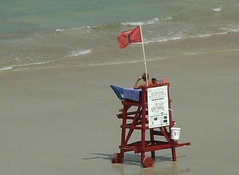 Beach Lifeguard Footage