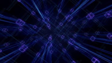 Digital Space A019 A Stock Video Footage