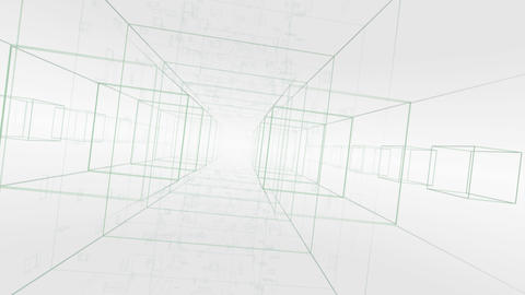 Digital Space A023 D Stock Video Footage