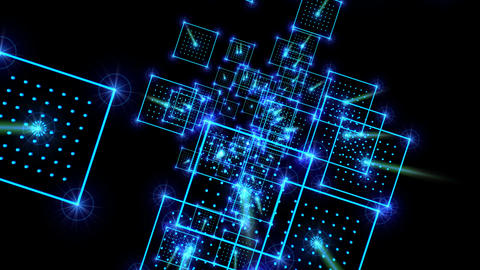 LightSpace01HD Animation