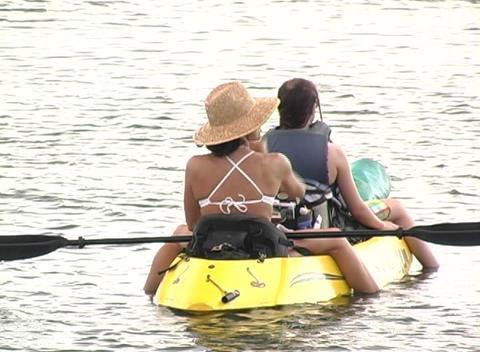 Kayak 1 Stock Video Footage