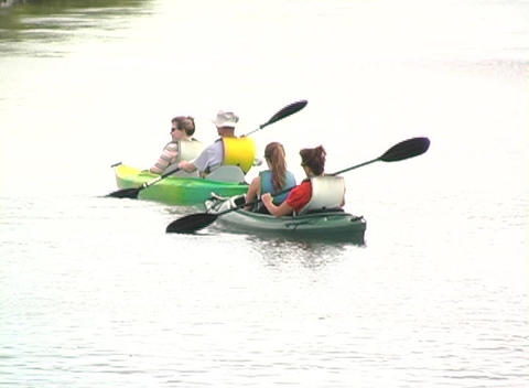 Kayak 5 Stock Video Footage
