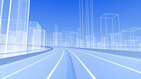 City Highway b Animation