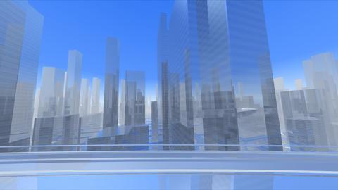 City Highway cs Stock Video Footage
