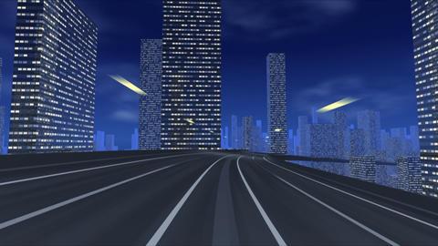 City Highway ee Stock Video Footage
