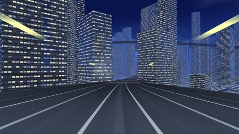 City Highway ee Stock Video Footage