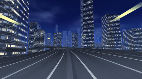 City Highway e Stock Video Footage