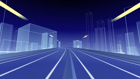 City Highway g Animation