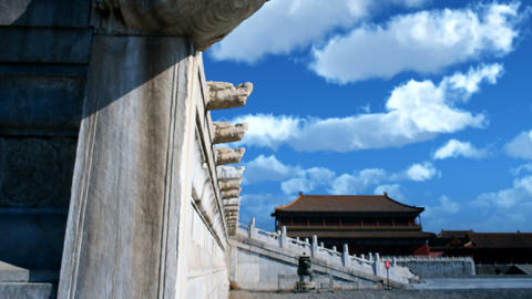ancient building,China Stock Video Footage