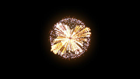 Fireworks Hanabi Ae HD Stock Video Footage