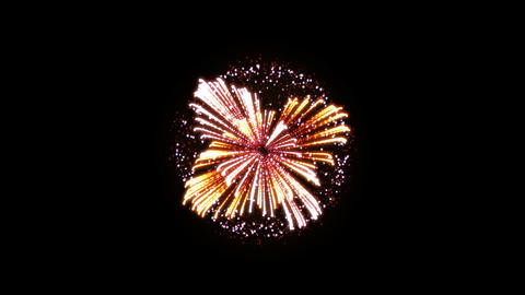 Fireworks Hanabi Ae HD Stock Video Footage