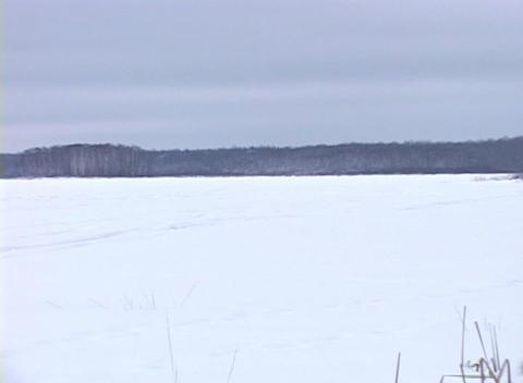 Snowy Landscape 1 Footage