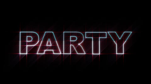 Party LEDS 01 stock footage