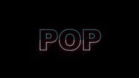 POP LEDS 01 Animation