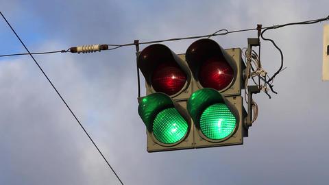 Stoplights Footage