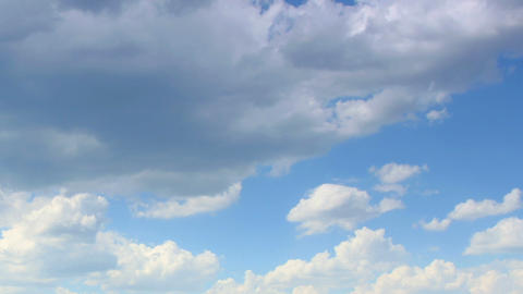 Running clouds (Time Lapse) FULL HD Stock Video Footage