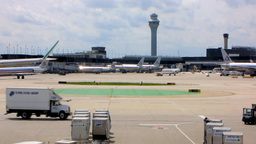 Chicago Airport 2 stock footage