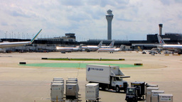 Chicago Airport 2 Stock Video Footage