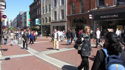 Grafton Street Footage