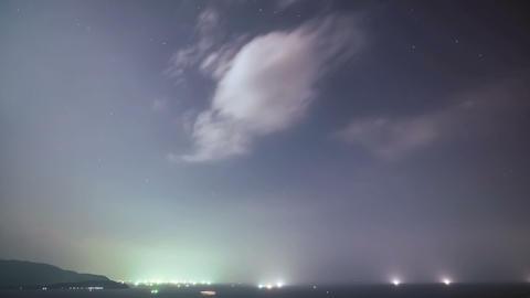 Stars_Cloud_Timelapse Stock Video Footage