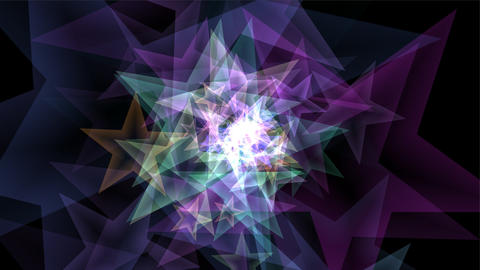 Star Particles CG動画素材