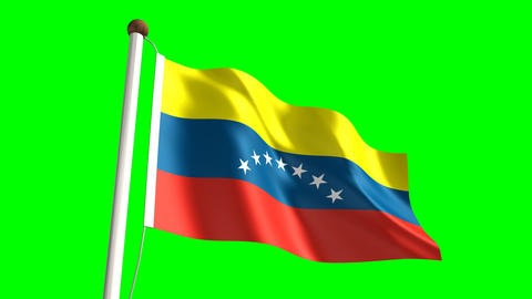 Venezuela flag Animation