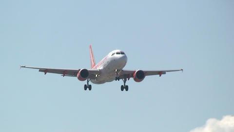 EASYJET airplane Footage