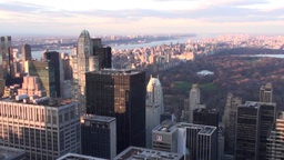 Manhattan Skyline 2 Stock Video Footage
