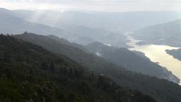 Natural park of Penada Geres, Portugal Stock Video Footage