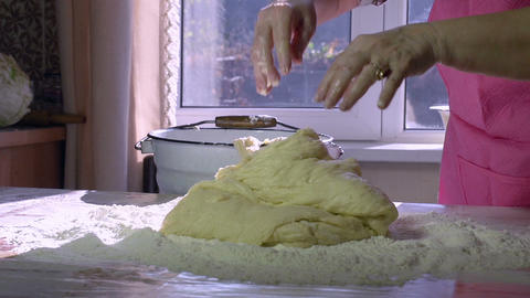 Grandmother Baking HD Footage